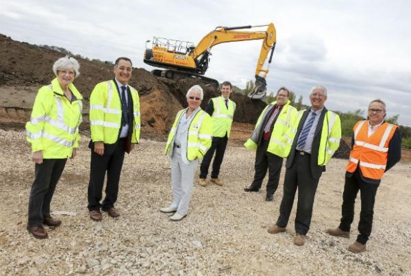Berry Hill Mansfield Scheme Gets Underway
